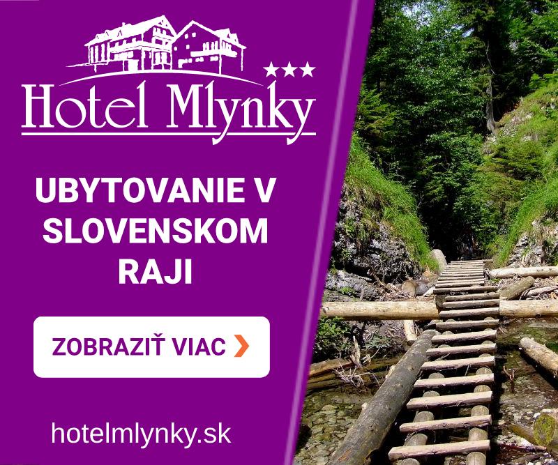 Ubytovanie v Slovenskom raji